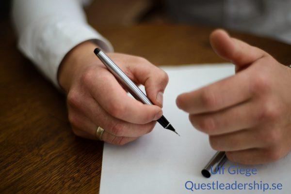 Förhandlingsteknik förberedelse